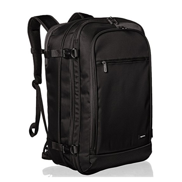 Basic style carry-on travel backpack durable polyester outdoor bag ultra-flexible and lightweight