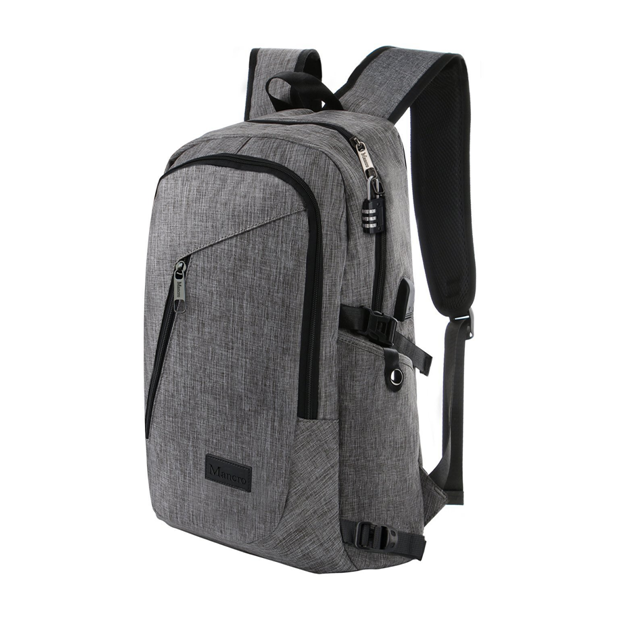 Business laptop backpack slim anti theft computer bag water-resistent college school hot backpack